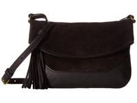 Frye Paige Small Crossbody Black Top Handle Handbags