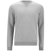 Derek Rose Men's Devon 1 Sweatshirt Silver Grey