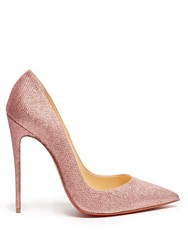 Christian Louboutin So Kate 120Mm Glitter Pumps Pink