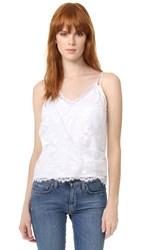 Carven Sleeveless Tank White