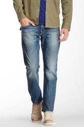 True Religion Jack Flap Pocket Slim Jean Blue