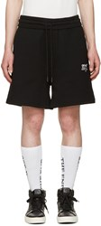 Off White Black Shorts