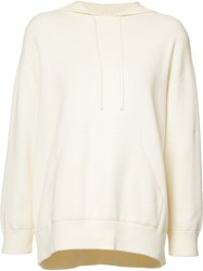 Vince Classic Hoodie White