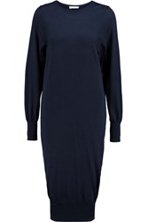 Vionnet Wool Sweater Dress Blue