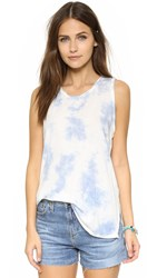 Sol Angeles Bleach Out Tank White