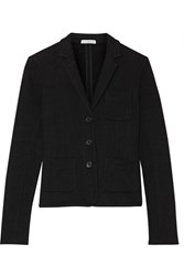James Perse French Cotton Terry Blazer Black