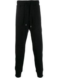 Love Moschino Logo Print Track Trousers Black