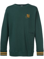 Undercover Embroidered Sweatshirt Green