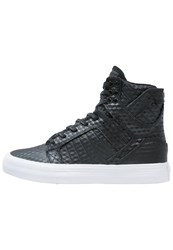 Supra Skytop Hightop Trainers Black White