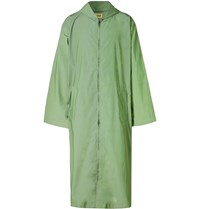 Fear Of God Reflective Nylon Hooded Raincoat Green