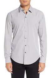 Boss Men's 'Robbie' Sharp Fit Graphic Print Sport Shirt