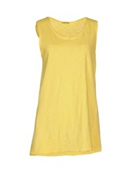 Hope Collection Topwear Vests Women Yellow