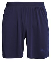 Puma Sports Shorts Peacoat White Dark Blue