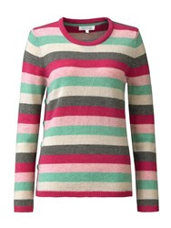 Tulchan Best Stripe Jumper Pink