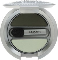 T. Leclerc Eyeshadow Duo Vert And Amande Colorless