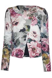 James Lakeland Floral Print Jacket Multi Coloured