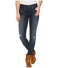 Ariat Ultra Stretch Skinny Jeans In Evening Evening Women's Jeans Blue