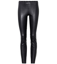 Stouls Jacky Leather Leggings Black