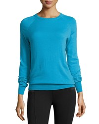 Equipment Sloane Crew Neck Sweater Fountain Blue