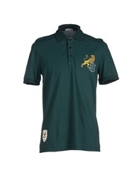 Cesare Paciotti 4Us Topwear Polo Shirts Men Dark Green