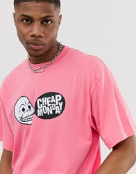 Cheap Monday Speech Logo T Shirt Pink