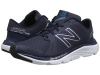 New Balance 690V4 Navy Silver Women's Running Shoes Blue