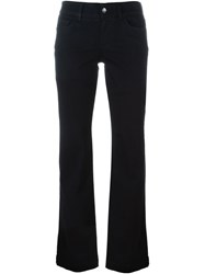 Dolce And Gabbana Flared Jeans Black