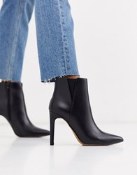 Pimkie High Heeled Boots In Black
