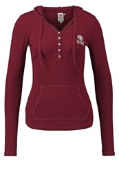 Franklin And Marshall Long Sleeved Top Bordeaux