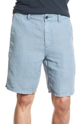 John Varvatos Linen Short Blue