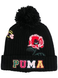 Puma Embroidered Patches Beanie Black