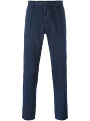 Etro Straight Trousers Blue
