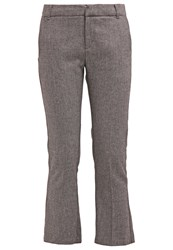 Ikks Trousers Gris Anthracite Dark Grey