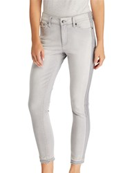 Ralph Lauren Premier Skinny Cropped Jeans Shaded Grey Wash