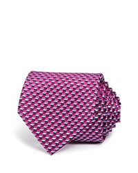 Bloomingdale's The Men's Store At Medium Chevron Classic Tie Magenta Blue