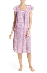 Women's Carole Hochman Designs Floral Cotton Ballet Nightgown