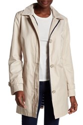 Tommy Hilfiger Button Detail Zip Front Jacket Beige