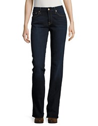 7 For All Mankind Kimmie Bootcut Jeans Dark Moon Bay