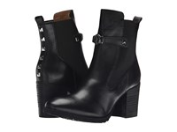 Armani Jeans Stud Boot Black Women's Pull On Boots