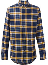 Dsquared2 Checked Shirt Blue
