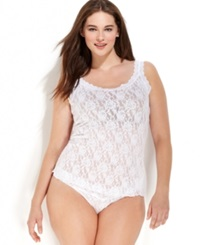 Hanky Panky Plus Size Signature Lace Camisole 1390Lx White