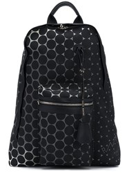 Golden Goose Deluxe Brand Polka Dot Print Backpack Black