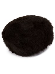 Horisaki Design And Handel Rabbit Fur Beret Brown