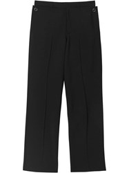 Burberry Classic Fit Tailored Trousers Black