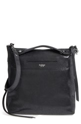 Botkier Small Logan Leather Hobo Black