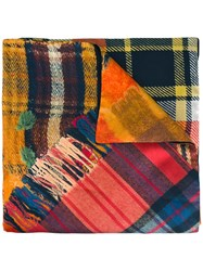 Pierre Louis Mascia Checked Scarf