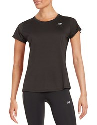 New Balance Accelerate Tee Black