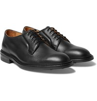 Tricker's Robert Leather Derby Shoes Black