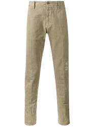 Incotex Classic Chinos Nude And Neutrals