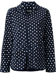 Dsquared2 Polka Dot Blazer Blue